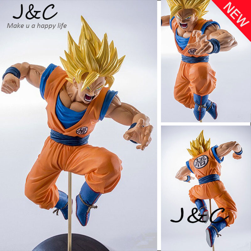 19CM Anime Dragon Ball Son Goku Jump Action Figure Brinquedos DragonBall figure Collection Toy Kids Toy<br><br>Aliexpress