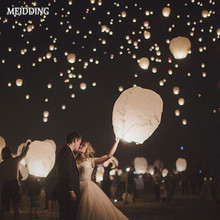 10pcs/Lot 14inch paper Wishing Lamp for birthday wedding party supplies Flying Paper Sky Lanterns Chinese Lantern