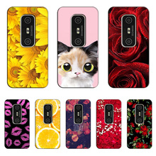 for HTC EVO 3D G17 Case Flower Cat UV Printed Cover Coque for HTC EVO 3D G17 X515m Case Hard Plastic Back Cover Fundas