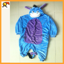 Professional New Arrived Style Blue Eeyore Donkey Pajamas Costume Fancy Kids Dress Size For Party Or Home Causal