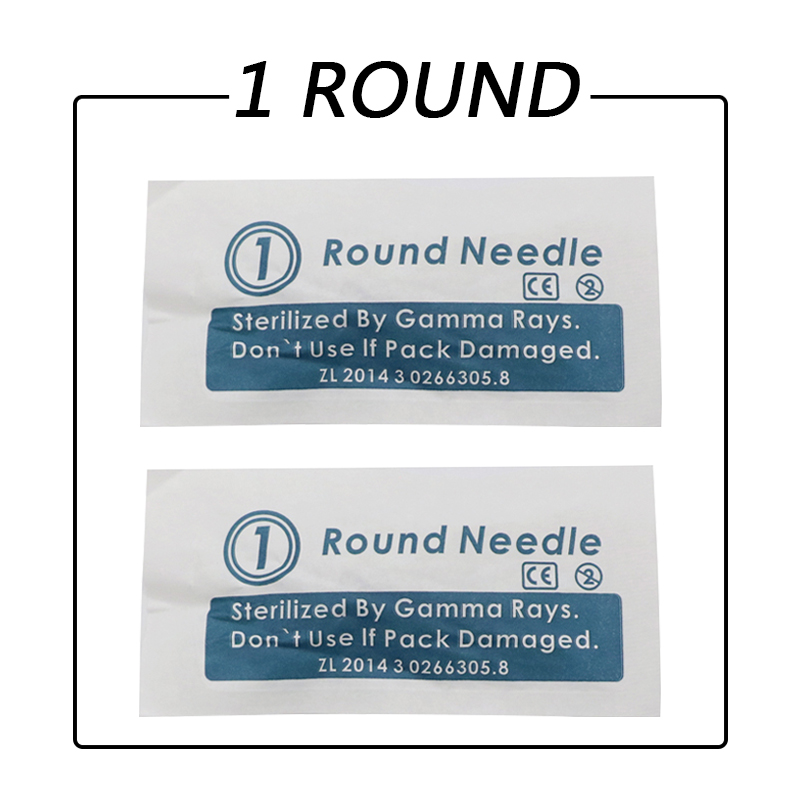 permanent Makeup needle 1 prong 3R 5R 7R 50pcs for eyebrow eyeline lip safety needle for liberty digital tattoo machine<br>