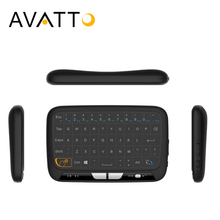 [AVATTO] 2017 NEW H18 Full Touchpad mini keyboard, 2.4GHz Gaming Touch pad  Wireless Air Mouse For Smart tv,ipad,PS3,TV Box,PC