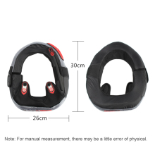 Motorcycle Neck Protector Motocross Off Road Racing Protective Neck Brace Long Distance Riding Reduce Riding Fatigue(China)