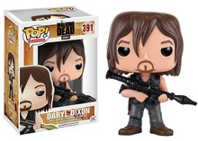 Original! Funko POP Television The Walking Dead - Daryl (Rocket Launcher) Action Figure Comes with Box