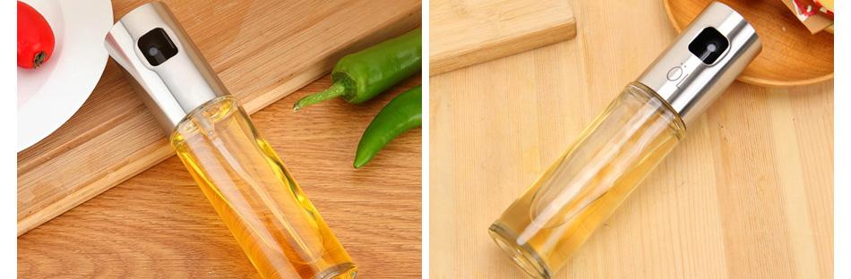 Olive Oil Sprayer Transparent