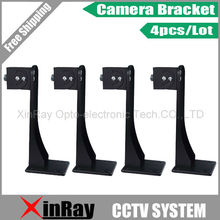 Free Shipping 4pcs 164mm Height Wall Mount Stand Bracket For Security Camera,Base Diameter 64mm CCTV Accessories Wholesale AB203