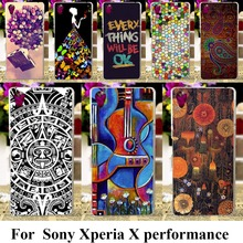 Soft TPU plastic Cases For SONY Xperia X performance F8131 F8132 SONY xperia XP Dora SS 5.0inch Cases Mix Color Painted Bag skin