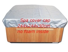 thremo spa cover cap for keep spa clean warm in winter, size 2440x2440x300 mm (8 ft. x 8 ft. x 12 in.)Hot tub jacket