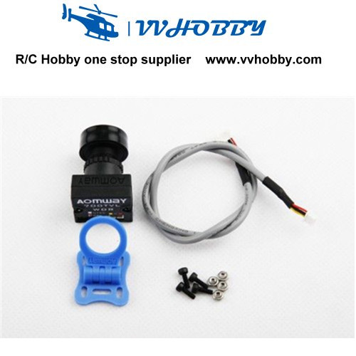 Aomway 700TVL HD 1/3 CMOS Wide Angle Mini FPV QAV250 Quad RC Car Camera PAL<br>
