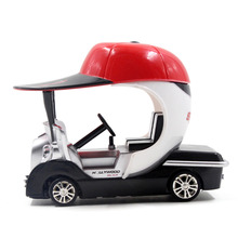 JJR/C Creative Innovation Remote Control Toy Car 1:43 Unique Mini Golf Children Racing Car Mini Remote Control Car For Kids(China)