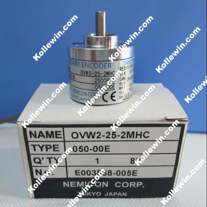 OVW2-25-2MHC Within the control of the rotary encoder 2500 lines solid shaft 6mm outer diameter of 38mm, new in box.<br><br>Aliexpress