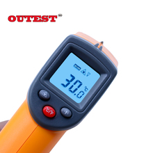 Digital Laser infrared thermometer Non contact IR thermometer GS320 -50~360C (-58~680F) Laser Point Gun Themperature meter