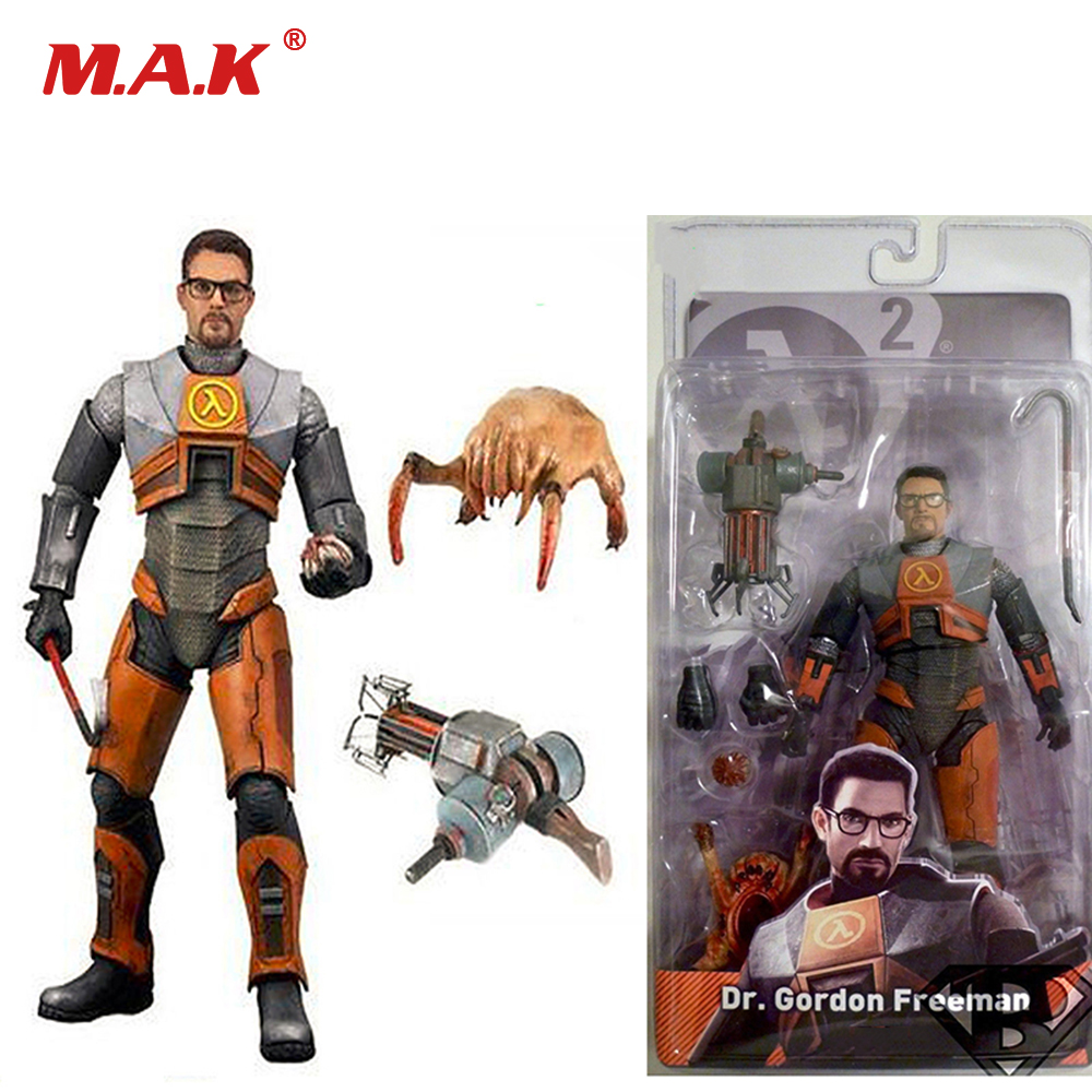 Collections 7inch Half-Life 2 Dr Gordon Freeman Gravity PVC Action Figure For Children Gift<br>