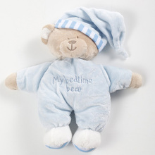 High Quality Cute Bear Toys Baby Kids Appease Baby Sleep Plush Toys Kids Briquedos Boy Girl Birthday Gifts(China)