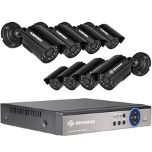 Buy DEFEWAY 1200TVL 720P HD Outdoor Surveillance Security Camera System 8 Channel 1080N HDMI CCTV DVR Kit 8CH AHD Camera Set for $186.51 in AliExpress store