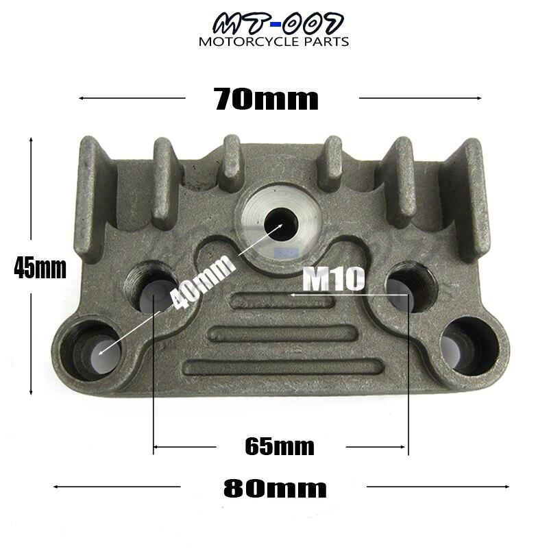 65mm Alu Oil Cooler Adapter Plate CRF SDG Atomic Thumpstar 50-125CC Z50 ATV SSR