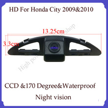 wireless car rear camera for city car monitor parking system backup viewer reversing  car security camera for Hond CITY