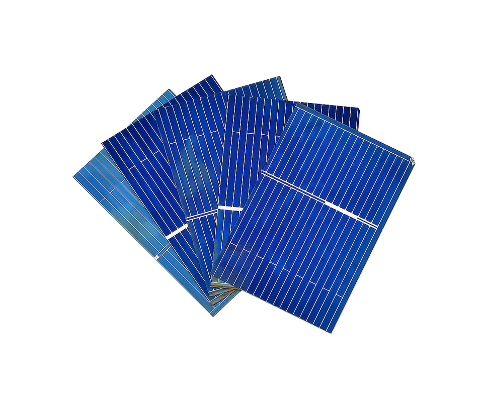 Aoshike 100pcs Polycrystalline Solar Panel 0.5V 0.17W 39x26mm Sunpower Solar Cell photovoltaic panels DIY Solar Battery Charger 7