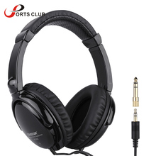 Wired Stereo Dynamic Monitor Headphone Headset for Guitar PC Computer CD Player Walkman MP3 MP4 Earphone(China)