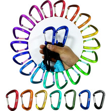 Hammock Hook 12KN Professional Safety Master Lock D Buckle Climbing Lock Carabiner Rock Climbing Buckle Equipment