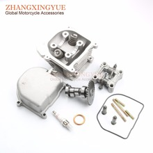 Buy 52mm non-egr Cylinder Head Kit & Camshaft & Rocker & Cylinder Head GY6 50cc Upgrade 105cc 139QMB scooter for $5.99 in AliExpress store