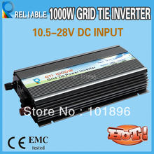 1000W Grid Tie Inverter for home use 10.8-28vdc input voltage and 100vac,110vac,120vac,output