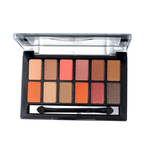 New Nude Color Pigments Smokey Shimmer Brand Eyeshadow Palette Waterproof 12 Colors Glitter Matte Minerals Powder Eye Shadow