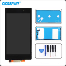 For Sony Xperia Z1 L39H L39 LCD Screen Display Touch Screen Digitizer Assembly c6902 c6903 LCD + Tools + Adhesive Black