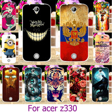 Soft TPU Painted Phone Case For Acer Liquid Z330 Z320 M330 4.5 INCH For Acer z330 Painted Case Cover Shell Housing Cover