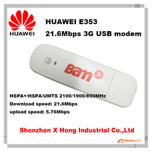 New original Unlocked Huawei E353 3G Wireless Modem 21.6Mbps usb dongle(China)