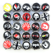 Chrome Metal Wheel Tire Valve Caps case for OPEL OPC vw toyota trd chr seat fr mazda audi skoda vtc bmw lexus car styling