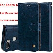 Xiaomi Redmi 6A Case Redmi 6 Cover Redmi 6 PRO Couqe Soft Silicone Back Cover Leather Flip Case Redmi 6 pro 6 Phone Cases