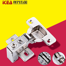 American Short Arm Damping Hydraulic Buffering Hinges, Furniture Small Shoe Wardrobe Cabinets Hinge