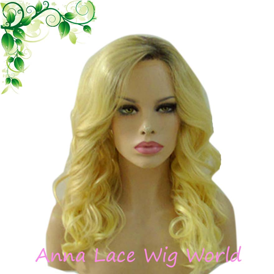free shipping50% real  hair  Lace  frong brown blond wig<br><br>Aliexpress