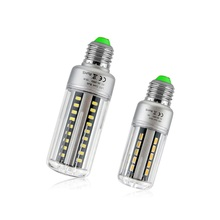 1X High End quality E27 E14 5W 7W 9W 12W 18W 20W AC 85-265V LED Corn light Aluminum Cooling Long Lifespan 5736 SMD LED lamp Bulb