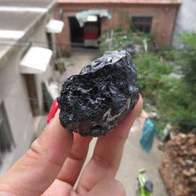 108g High Quality Raw Black Tourmaline Gemstone Specimen Rock Reiki Chakra Crystal Healing Metaphysical(China)