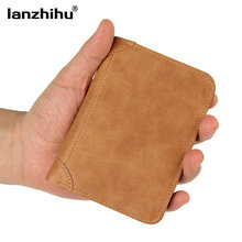 Buy Men Wallet Genuine Leather Cowhide Vintage Short RFID Wallet Credit Cards Holder Leather Male Purse Small Casual Money Bag for $25.73 in AliExpress store