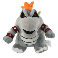 Super Mario 3D Land Bone Kuba dragon Plush Toy Bolster Cartoon plush soft stuffed dolls Dry Bones Bowser Koopa