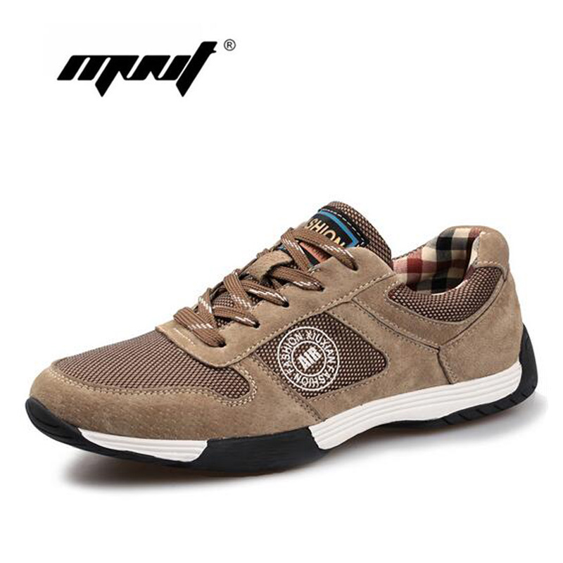 Fashion Breathable Men Shoes,Suede Leather With Mesh Men Casual Shoes, Luxury Shoes Men Outdoor Walking Shoes Zapatillas Hombre<br>