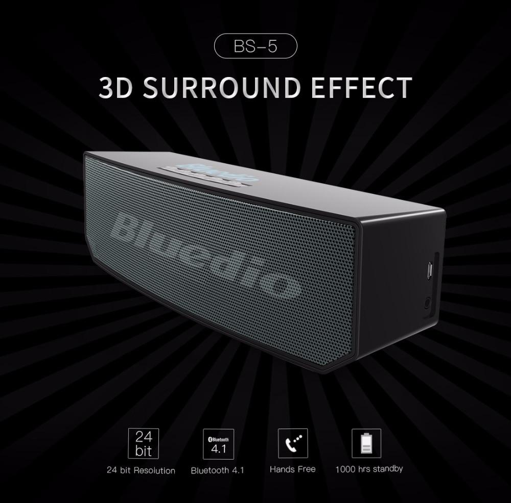 2017 new item Bluedio BS-5 (Camel) Mini Bluetooth speaker Portable Wireless Loudspeaker Sound System 3D stereo Music surround