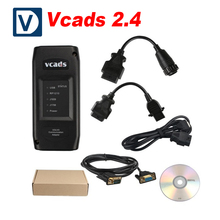 New VCADS Pro for Volvo 2.4 Version VCADS Truck Diagnostic Tool for Volvo Truck Diagnostic Vcads Fast Shipping(China)