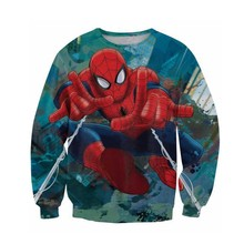Sportlover Popular Anime Superhero Hero Sweatshirt Hoodies Cartoon Characters 3d Print Jumper Women Men
