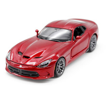 Free Shipping Genuine Maisto Martha map 1:24 Dodge Viper SRT red alloy toy car simulation model kids gifts high simulation hot