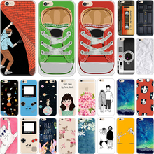 5/5S SE Cover For Apple iPhone 5 5S SE Case Cases Phone Shell Hard Plastic Material Painted School Bus Lovely Children Meteor