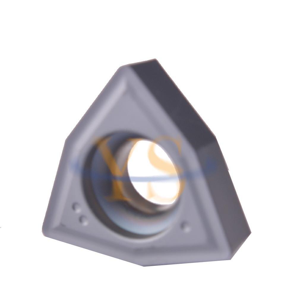 Carbide Inserts WCGX080412 CNC Drilling Carbide Inserts 10Pcs New CNC Tools<br>