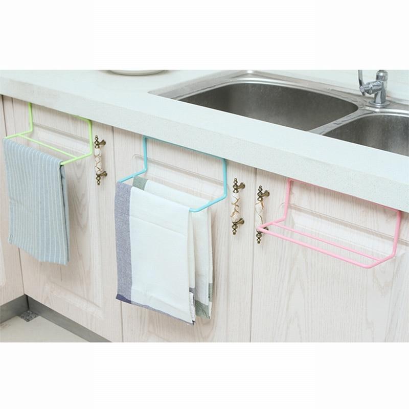 1 perchero para colgar en el estante de la toalla organizador de cocina de baño  armario colgador 73bad32612d9