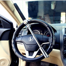 Anti Theft Car Steering Wheel Lock Car Anti-theft Security Lock Broken Windows Escape Tools with 3 Keys High Quality
