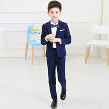 Boys Blazers Kids Boy Suits for Weddings Prom Formal Suits Birthday Dress for Boys Tuexdo Children Clothing Set for Boys F57