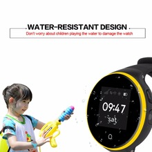 "ZGPAX Fashionable Waterproof Children Smart Watch 1.22"" IPS Round Screen GPS/AGPS/LBS/camera positioning Perfect Gift for Kids(China)"