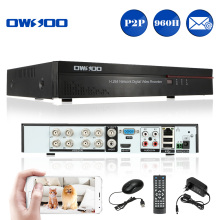 OWSOO 8 Channel DVR Digital Video Recorder 960H D1 H.264 CCTV DVR Recorder Support Video/Audio Recording iOS Android PTZ Control(China)